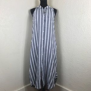 Holding Horses Anthropologie Striped Maxi Dress